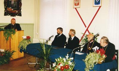 Ks. arb. Tadeusz Gocłowski - wspomnienie - fot. Henryk Połchowski