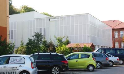 Nowa hala sportowa w Ośrodku dla Niesłyszących