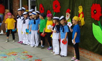 Festyn w Przedszkolu Samorządowym nr 2 - 09.06.2011