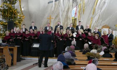 Koncert kolęd w kościele NMP Królowej Polski