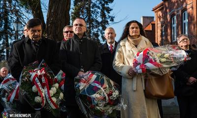 Wejherowianie upamiętnili prezydenta RP śp. Lecha Kaczyńskiego - 08.02.2014