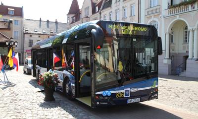 Nowy autobus komunikacji miejskiej