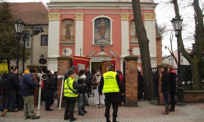 Droga Krzyżowa na kalwarii -24.02.2012