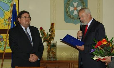 Pożegnanie Mirosława Sildatke - dyrektora ZS 3 w Wejherowie - 27.09.2011
