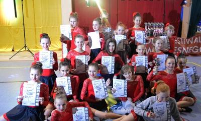 Formacje taneczne WCK na Festiwalu Tańca Nowoczesnego w Łebie -18.01.2014
