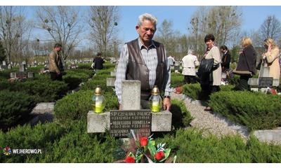 Wejherowscy kombatanci na obchodach 70. rocznicy wyzwolenia obozu w Potulicach  - 25.04.2015