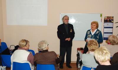 Spotkanie z poetą Zbigniewem Jablońskim w WUTW YMCA - 05.02. 2014