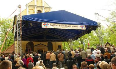 Odpust Wniebowstapeinia Pańskiego na Kalwarii Wejherowskiej - 16.05.2010