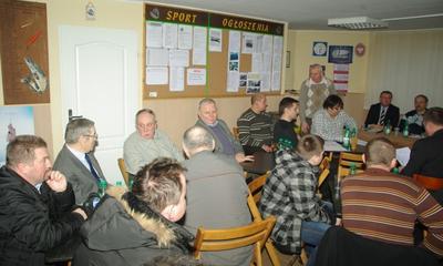 Zebranie sprawozdawcze Koła PZW Wejherowo-Miasto - 19.02.2012
