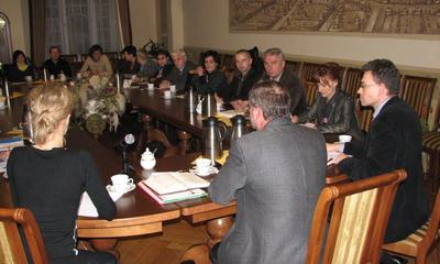 Narada przedstawicieli MTK 1-12-2009