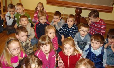 Wizyta przedszkolaków w ratuszu - 04.03.2010r.