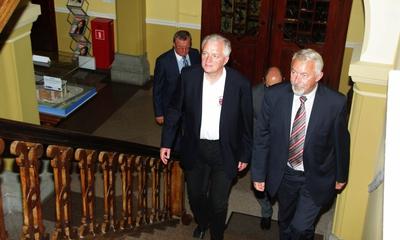 Jarosław Gowin w wejherowskim ratuszu - 29.07.2013