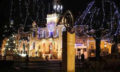 Wejherowskie iluminacje świąteczne