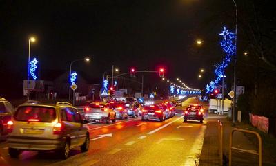 Iluminacje świąteczne w Wejherowie