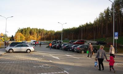 Nowy parking przy cmentarzu na ul. Roszczynialskiego - 26.10.2015