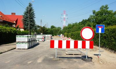 Trwa budowa ul. Lelewela do ul. Nadrzecznej - 07.08.2015
