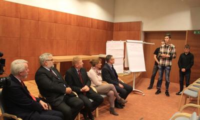 Debata Młodzieżowa w Filharmonii Kaszubskiej - 04.11.2015