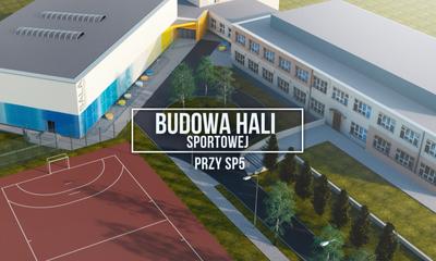 Budowa hali sportowej przy Szkole Podstawowej nr 5 w Wejherowie