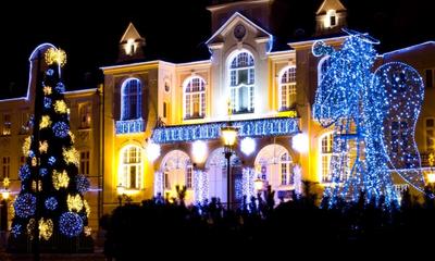 Iluminacje świąteczne w Wejherowie - grudzień 2011