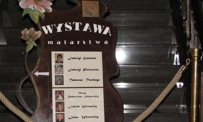 Wystawa w ratuszu Stowarzyszenia Plastyków im. Stefana Lewińskiego - 20.01.2012