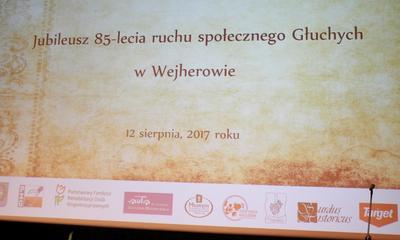 85 lat KT Polskiego Związku Głuchych