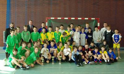 Halowy Turniej Piłki Nożnej SP o Puchar Prezydenta Wejherowa - 26.03.2010