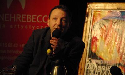 Spotkanie ze Zbigniewem Zamachowskim w WCK 28-11-2009
