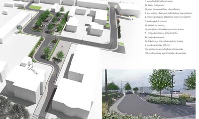 Plan przebudowy ul. Kopernika i ul. Dworcowej