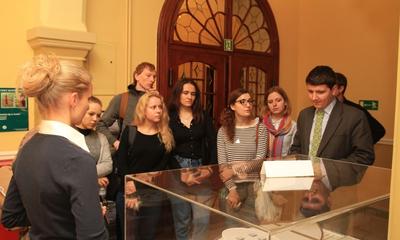 Wizyta studyjna młodzieży z Biasłorusi, Mołdawii i UKrainy - 17.11.2015