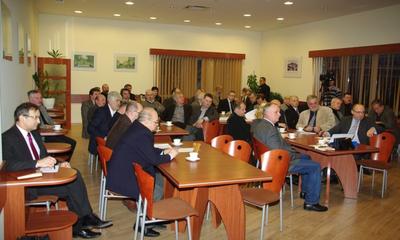 Spotkanie przedsiębiorców z parlamentarzystami w Regionalnej Izbie Przemysłowo-Handlowej