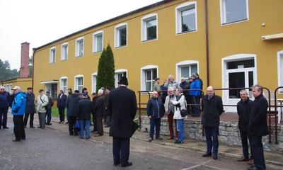 Bunkier dowodzenia nową atrakcją Muzeum TW Gryf w Dąbrówce