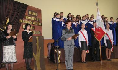 10. lecie Gimnazjum nr 1 im. Mikołaja Kopernika 16-11-2009