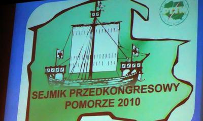 Sejmik Przedkongresowy PTTK - Pomorze 2010 - Gdynia Oksywie 17.03.2010