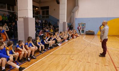 Noworoczny trening UKS Basket-Ósemka
