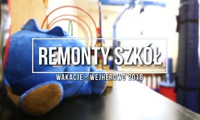 Wakacyjne remonty w wejherowskich szkołach
