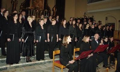 Koncert z okazji 20. lecia Chóru Cantores Veiherovienses - 07.11.2010