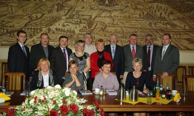 I sesja nowowybranej Rady Osiedla Sucharskiego w ratuszu - 20.04.2011