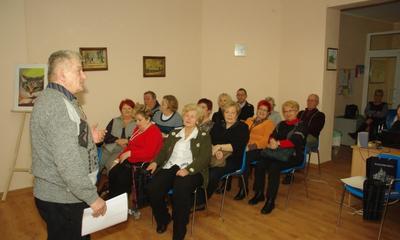 Spotkanie Sekcji Turystycznej WUTW YMCA - 25.01.2013