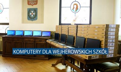 Przekazanie komputerów dla wejherowskich szkół