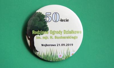 Obchody 50-lecia Rodzinnych Ogrodów Działkowych im. H. Sucharskiego