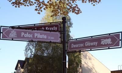 Złota jesień w parku i na kalwarii - 17.10.2012