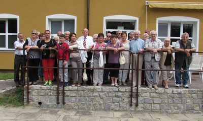 Muzeum wojskowe w Dąbrówce zachwyciło kombatantów
