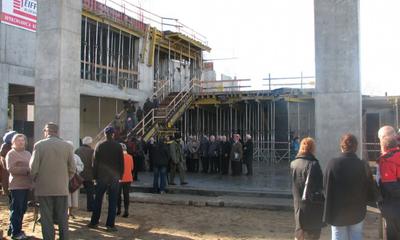 Dzień Otwarty na budowie WCK - 16.10.2010