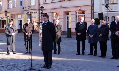 Wystawa historyczna - wizyta wicemarszałka Marka Kuchcińskiego w Wejherowie - 20.04.2013