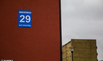 Nowy budynek socjalny przy ul. Iwaszkiewicza w Wejherowie - 27.01.2015