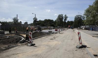 Nowa droga przy Powiatowym Urzędzie Pracy - 20.08.2015