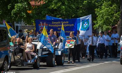 Parada samochodówki z okazji Dnia Patrona - 23.05.2014