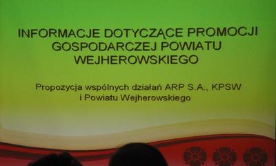 Propozycja promocji powiatu wejherowskiego - 04.03.2011
