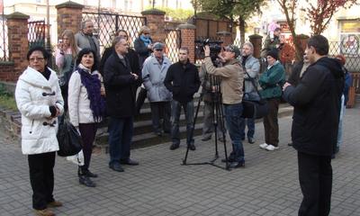 Klub MIłośników Wejherowa - miejsca pochówku - 05.11.2011