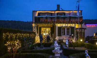 Laureaci konkursu na najbardziej atrakcyjną dekorację świąteczną balkonu, okna lub ogrodu na terenie miasta Wejherowa